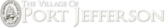 Port Jefferson Village Retina Logo