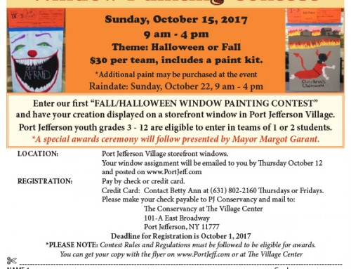 NEW! HarvestFest Window Painting Contest. Open to PJV Students Grades 3 – 12