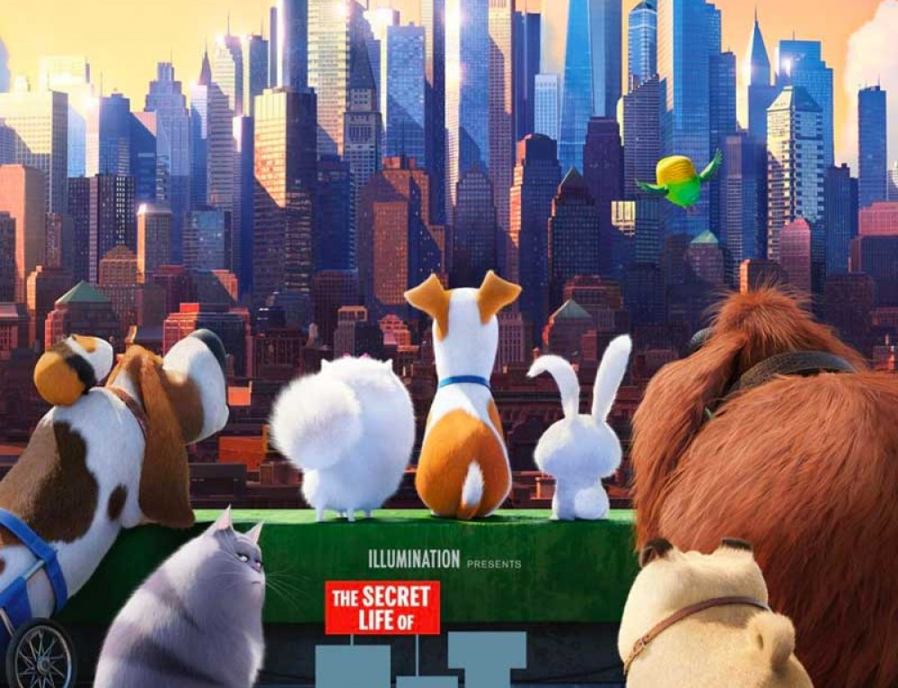 """Secret Life of Pets"" Movie for tonight is cancelled and rescheduled for next Tues., Aug 22"