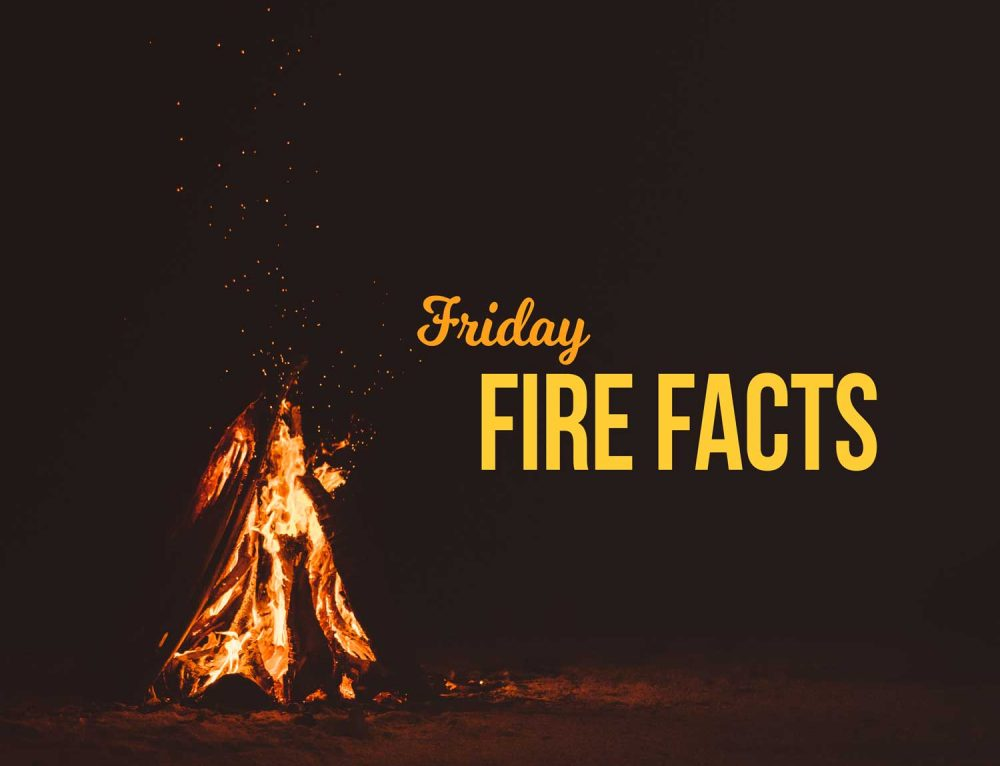 Fire Friday Facts