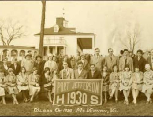 DOWN MEMORY LANE – An exhibit of Past Washington Class Trips