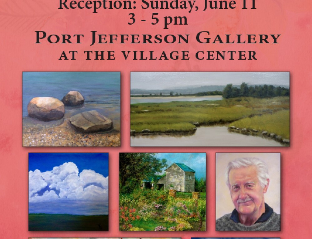 Meet The Artists at the Port Jefferson Gallery Reception
