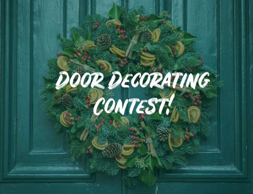 2nd Holiday Door Contest for Residents is Back