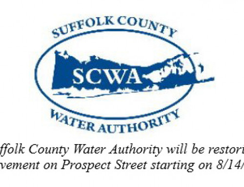 SCWA will be restoring the pavement on Prospect Street