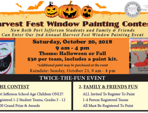 2nd Annual Harvestfest Window Painting Contest