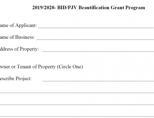 Business Incentive/Grant Program