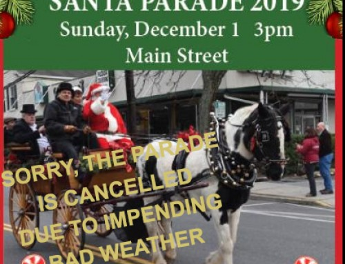 Santa Parade today is cancelled