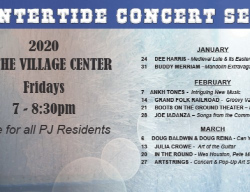 Wintertide Concert Series for PJ Residents