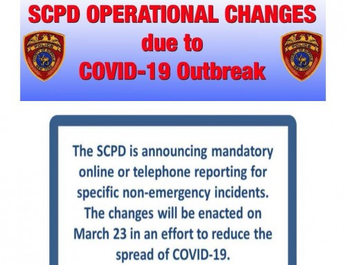 SCPD Operational Changes due to COVID-19 Outbreak